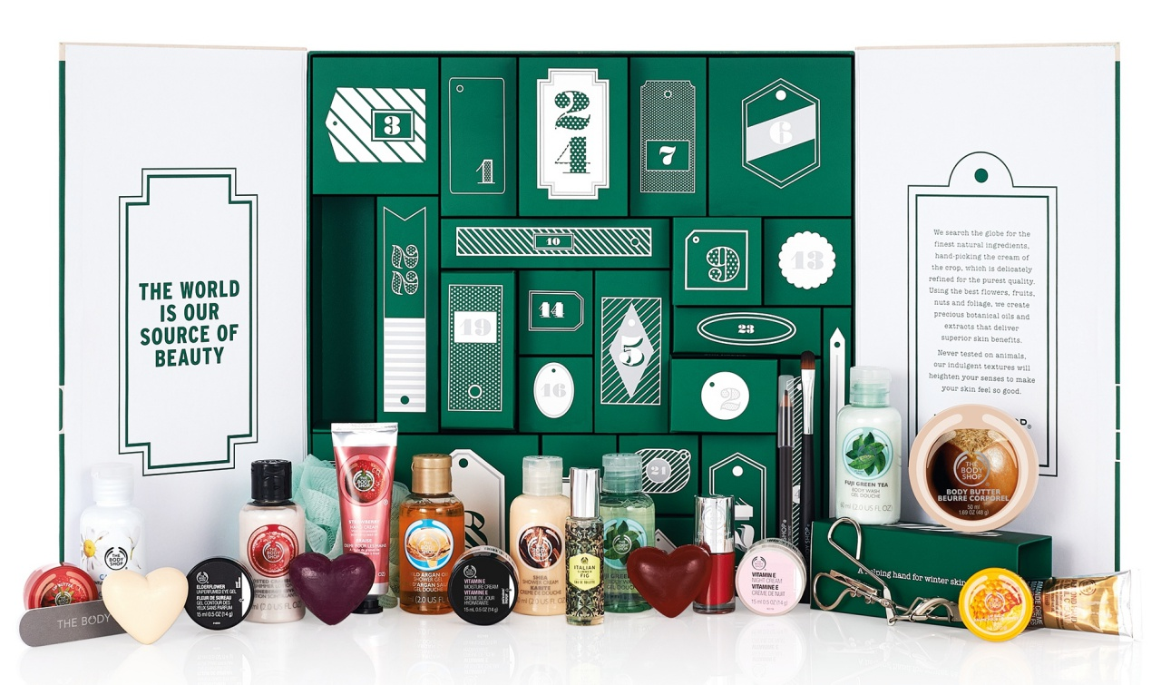 Christmas Calendar 2015 : Of the best beauty advent calendars for christmas