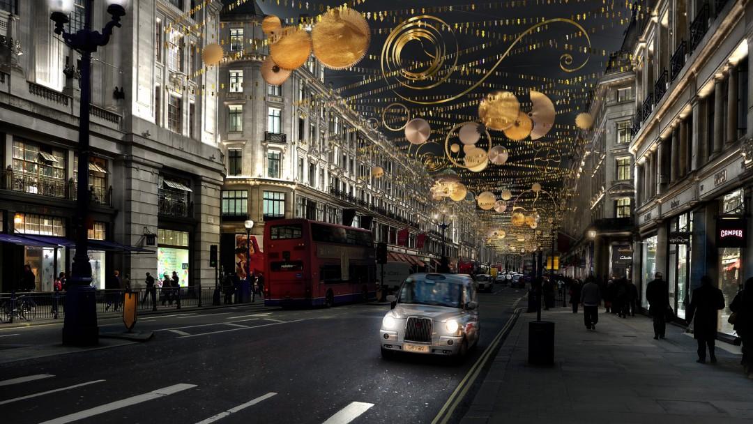 Regent Street Christmas Lights 2015
