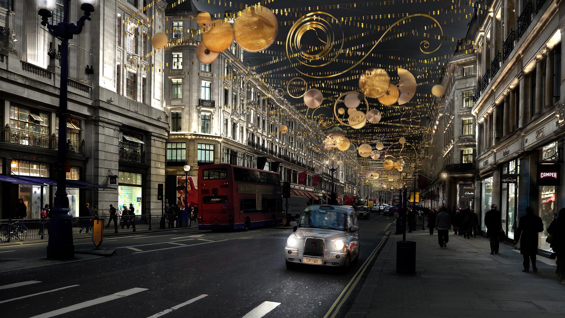 Regent Street Christmas Lights 2015 What S On November