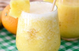 Banana Pina No Colada Mocktail