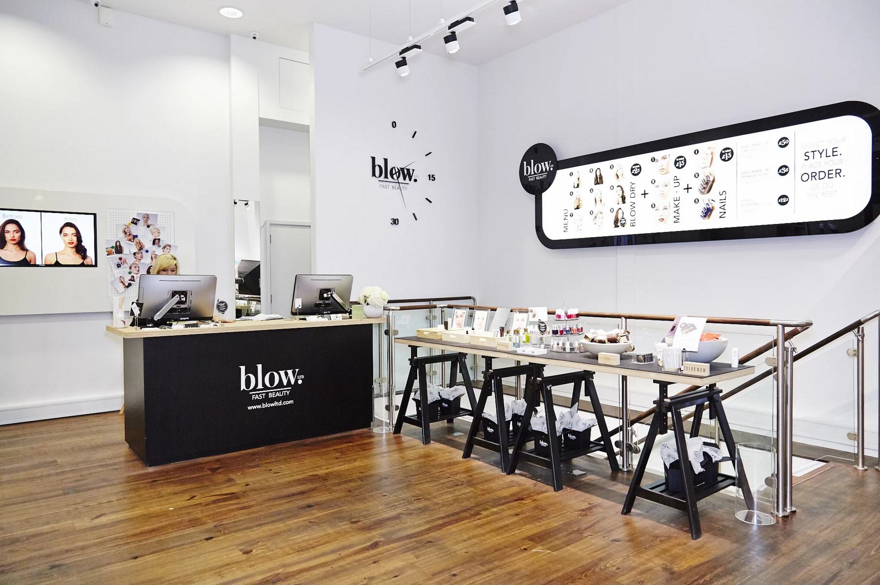The best London blow-dry bars images
