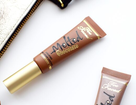 Too Faced Melted Chocolate Liquid Lipstick Review