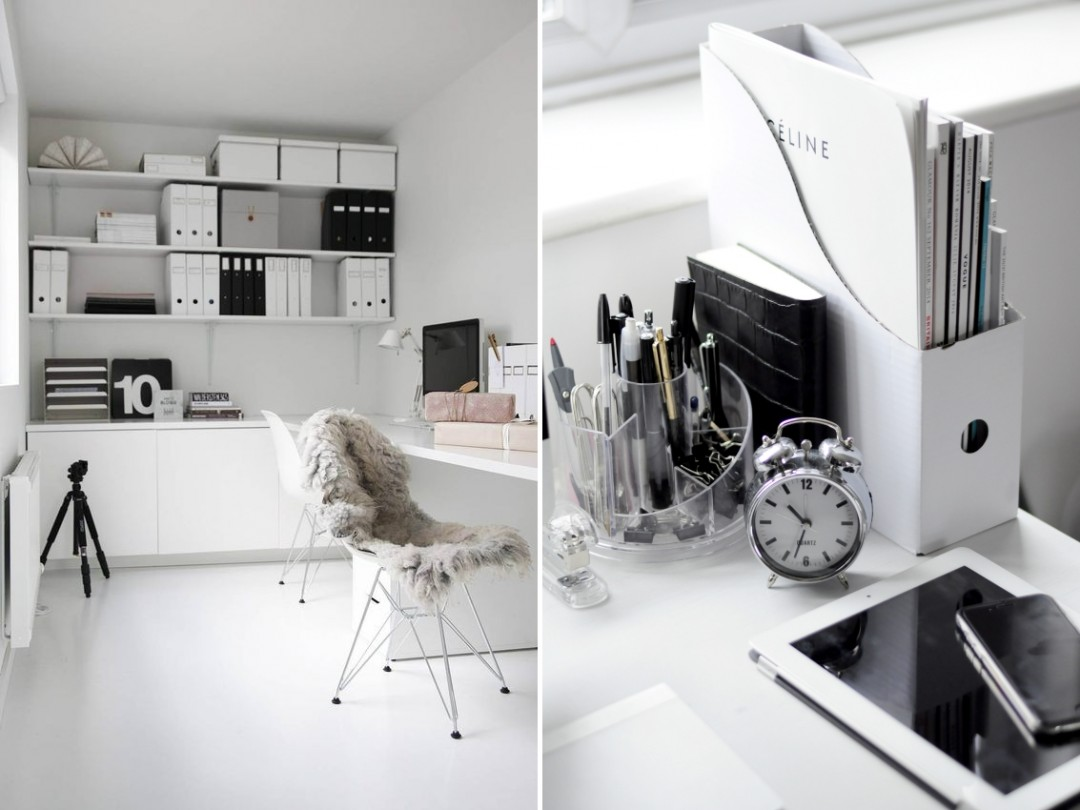 5 tips to achieve a minimalist home office for Minimalist house tips