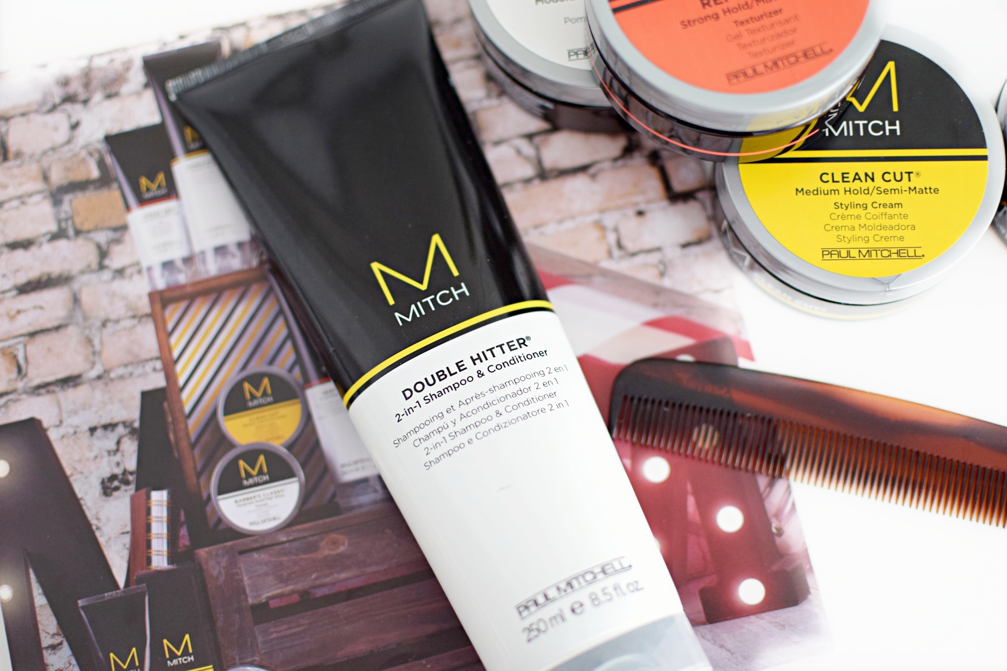 Mitch Matterial >> MITCH by Paul Mitchell Men's Hair Range Review