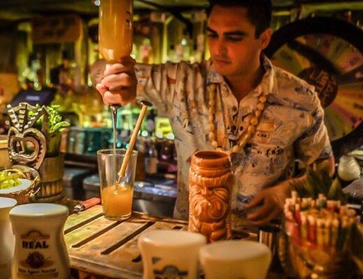 TIKI beach bar Greenwich Spirit of TIKI