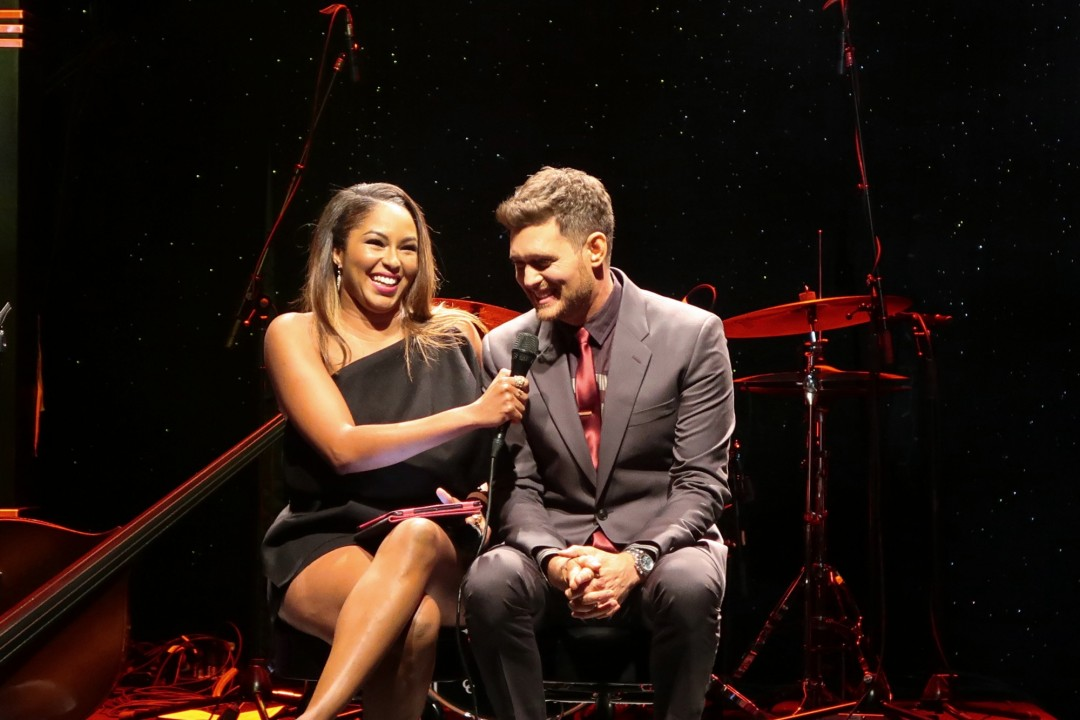 Michael Buble By Invitation Launch