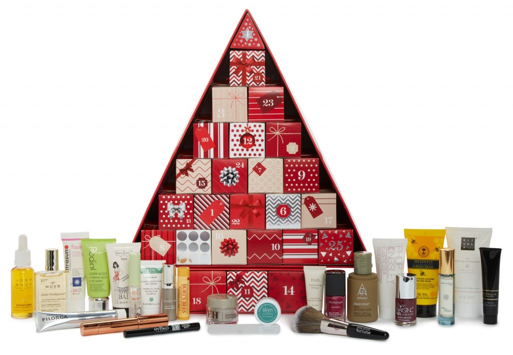 Marks & Spencer beauty advent calendar 2016