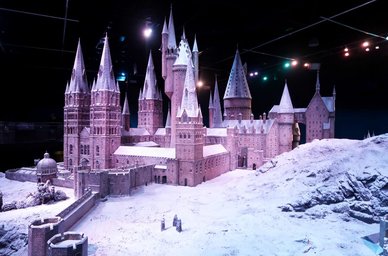 Hogwarts in the snow 2016