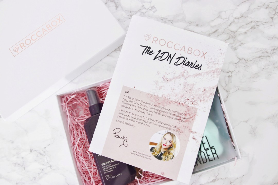Roccabox The LDN Diaries Beauty Box