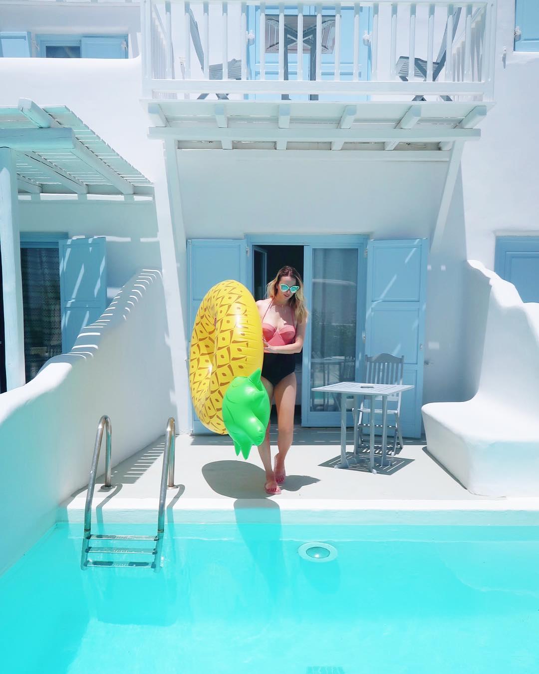 Mykonos Hotel Pool