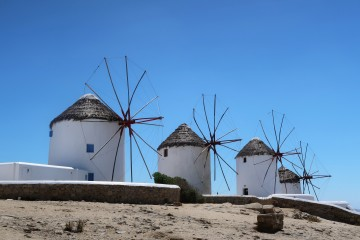 Windmills Mykonos - Why You Should Visit Mykonos - Uk Travel Blogger