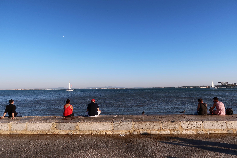 Lisbon sea view