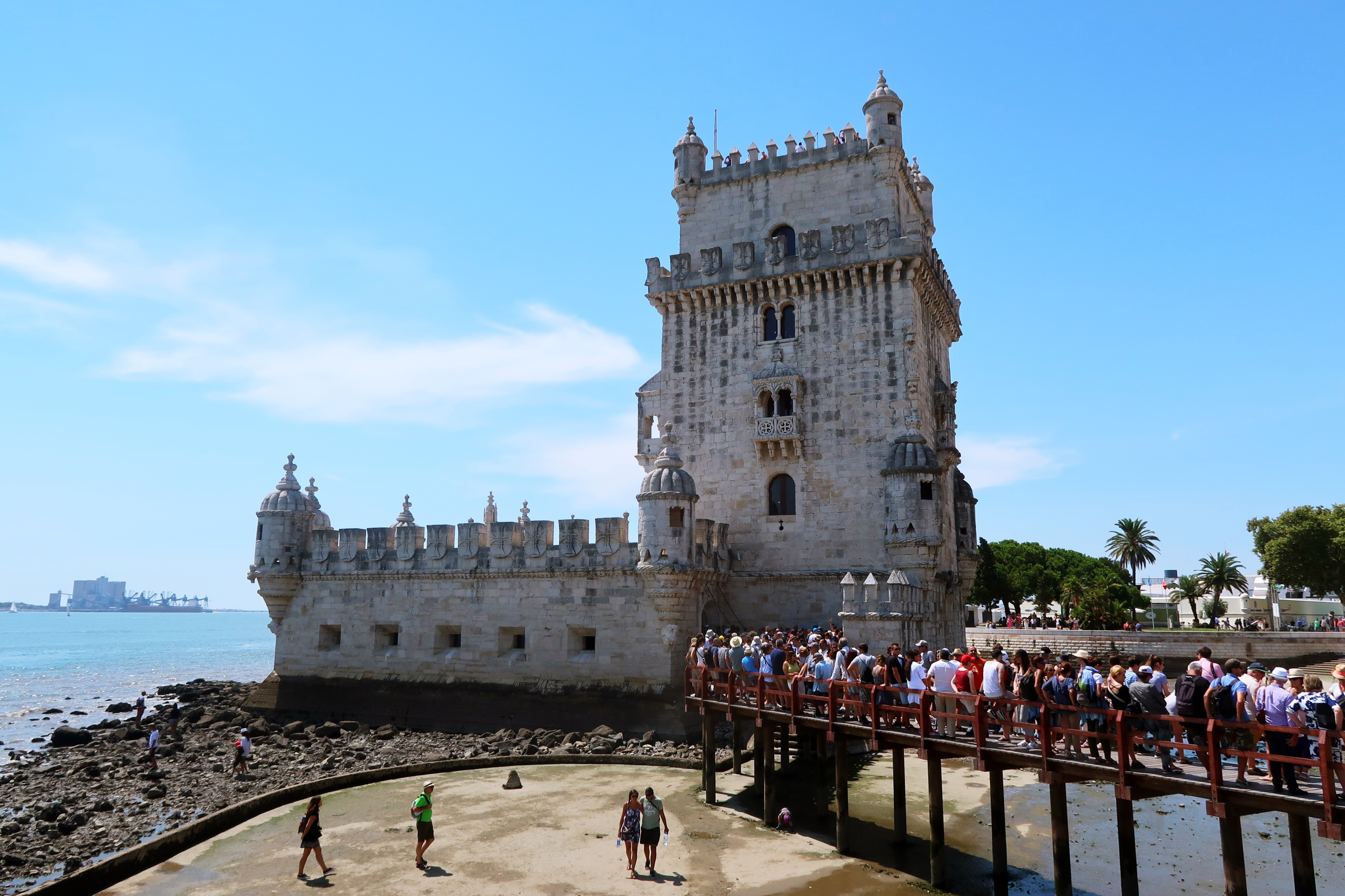 Torre de Belem - things to do in Lisbon - travel blog