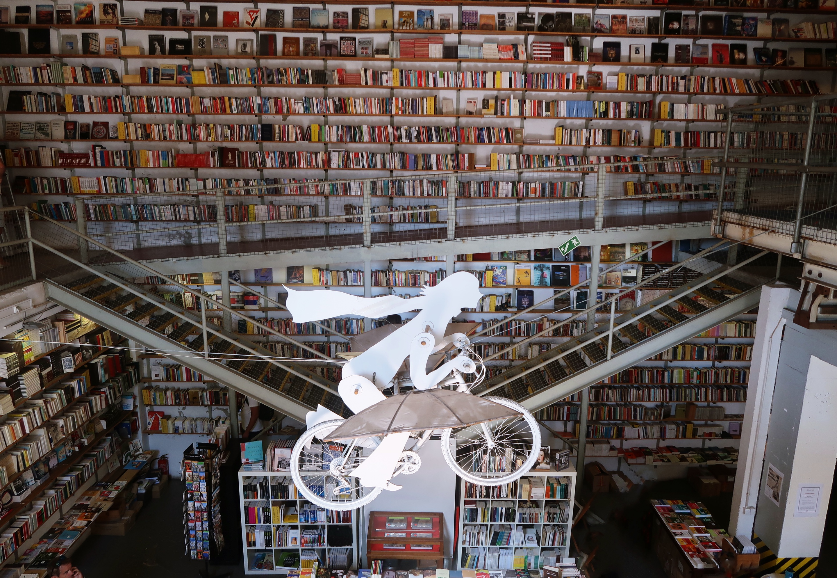 Ler Devagar bookshop cafe LX Factory - Things To Do In Lisbon