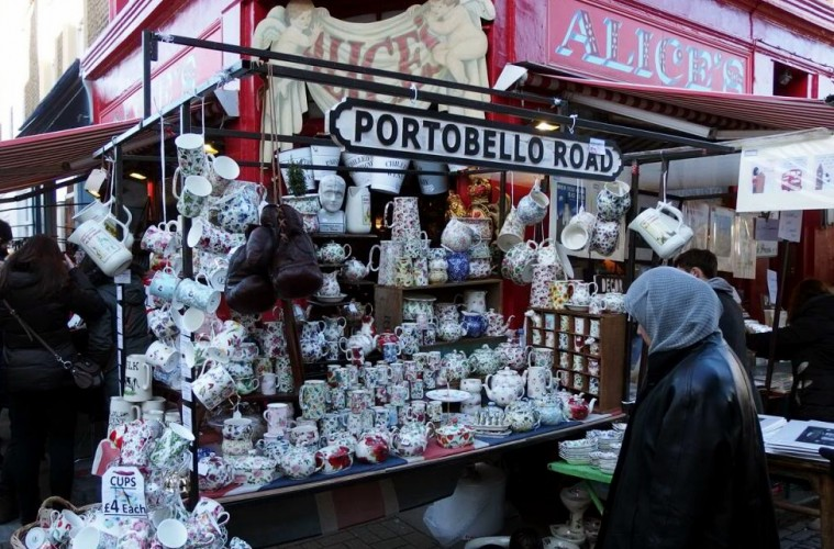 Portobello Road Market - Best Markets In London - The LDN Diaries