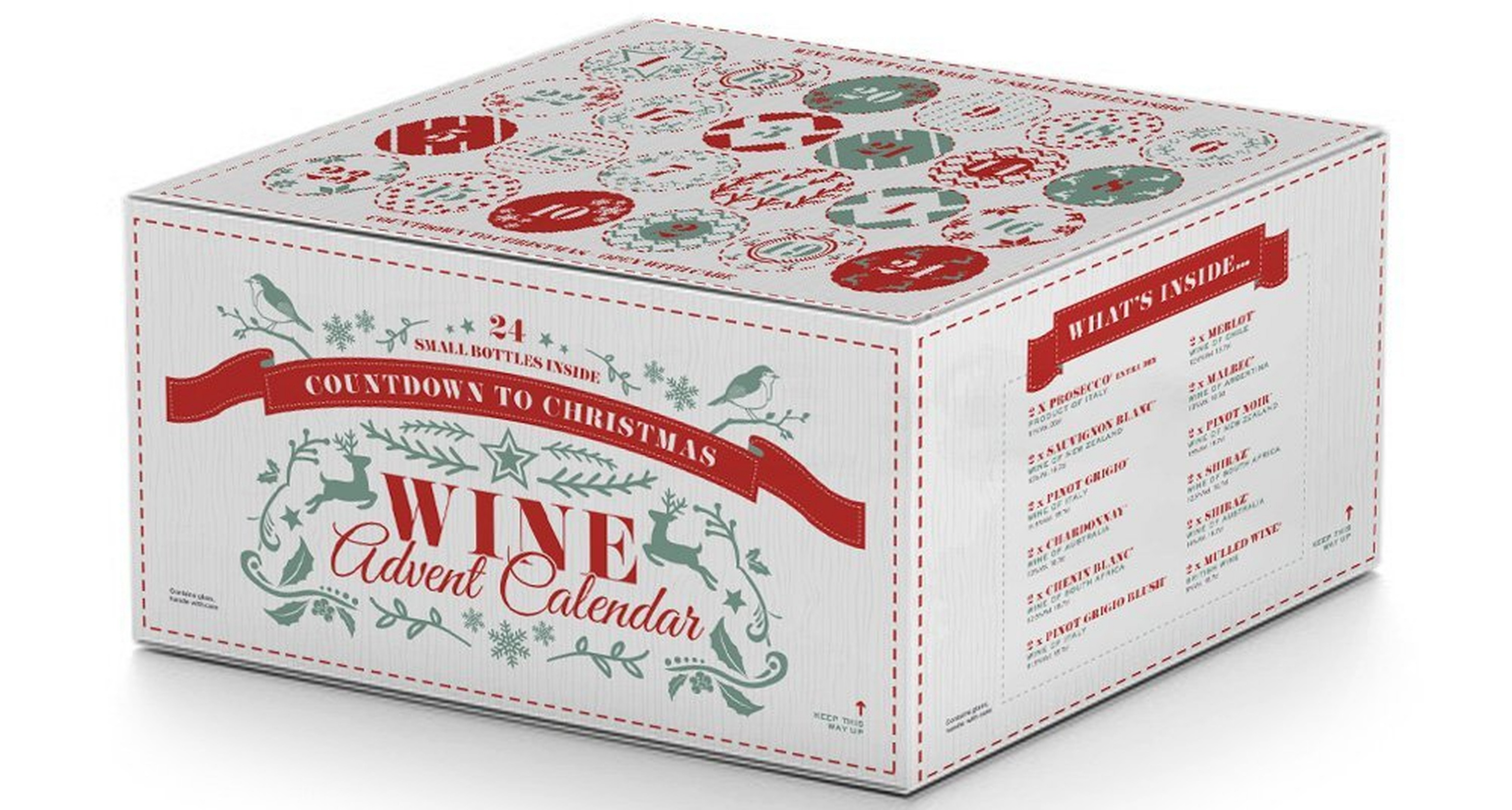 Christmas Wine and Prosecco Advent Calendar theldndiaries