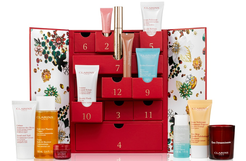 Clarins Women's 12 Day Christmas Calendar 2017-theldndiaries