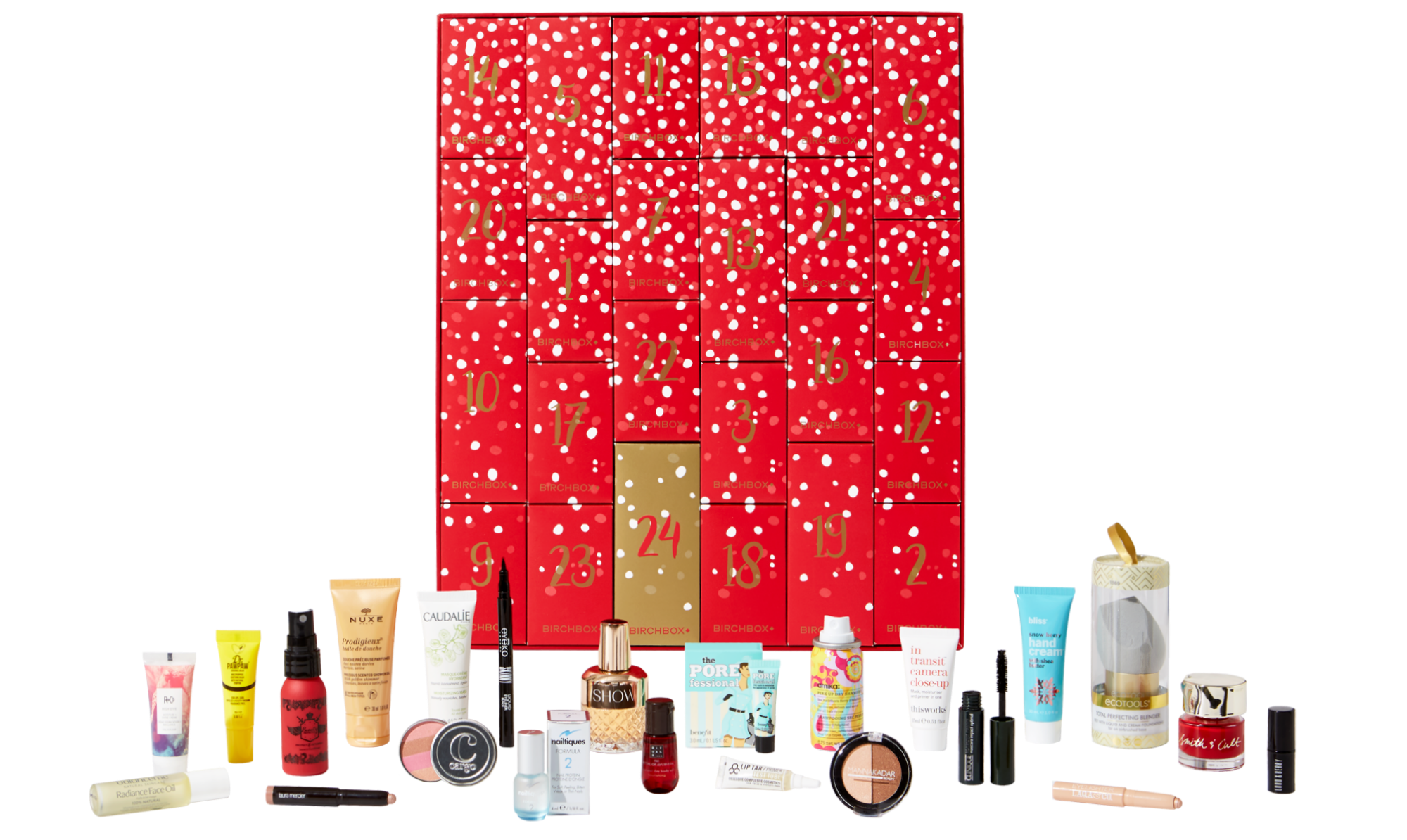 birchbox advent calendar 2017