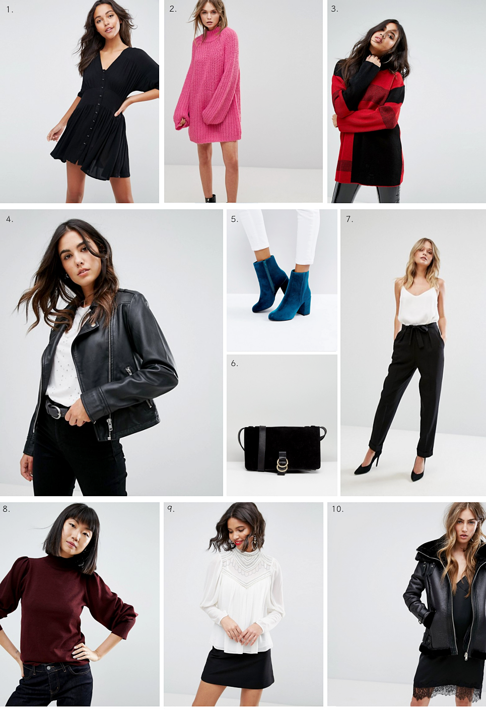 ASOS Autumn Winter Top Picks