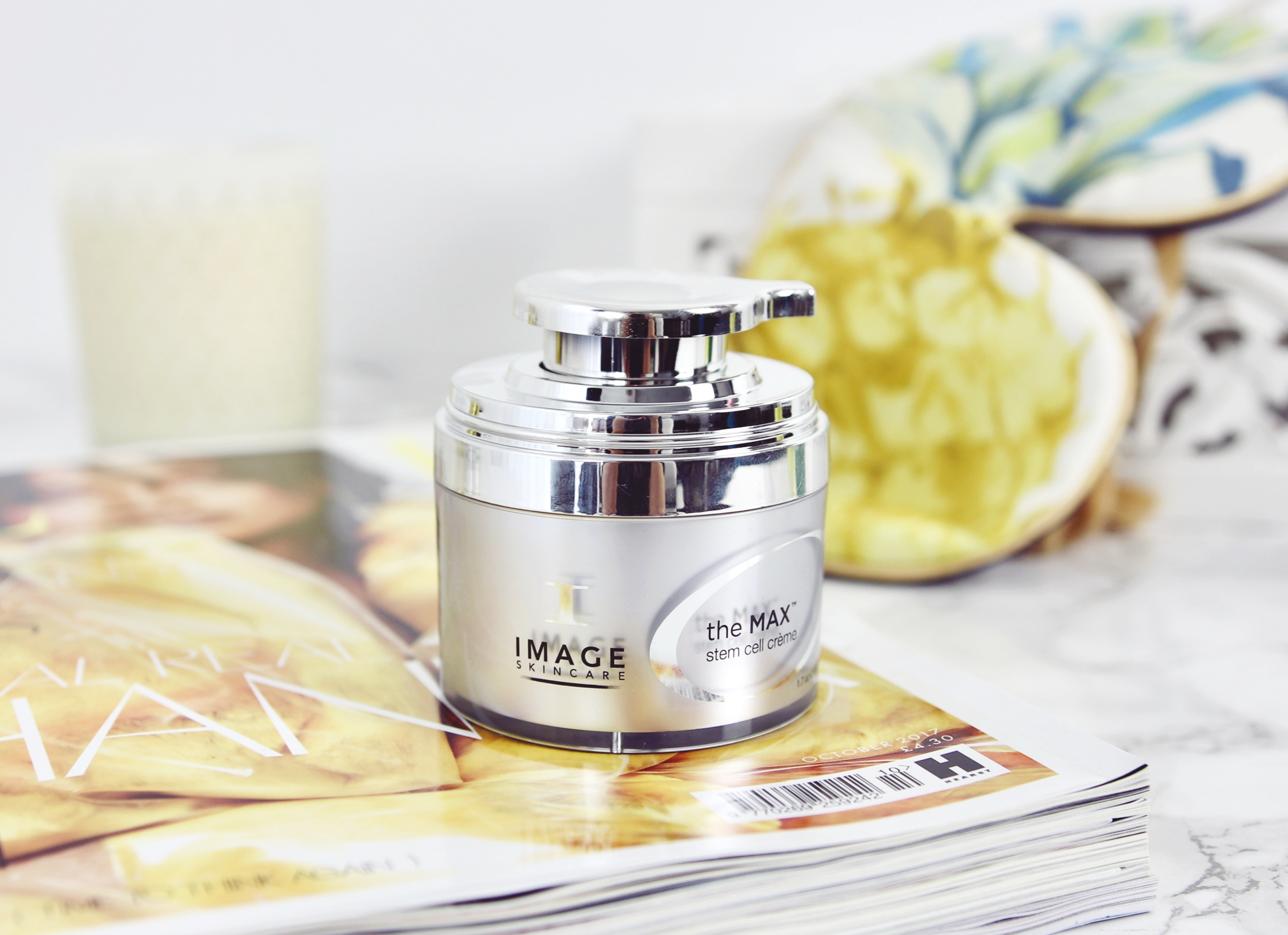 Image Skincare Stem Cell Creme Best Overnight Treatments Skincare UK Beauty Blogger