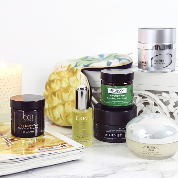 Overnight Treatments Skincare UK Beauty Blogger