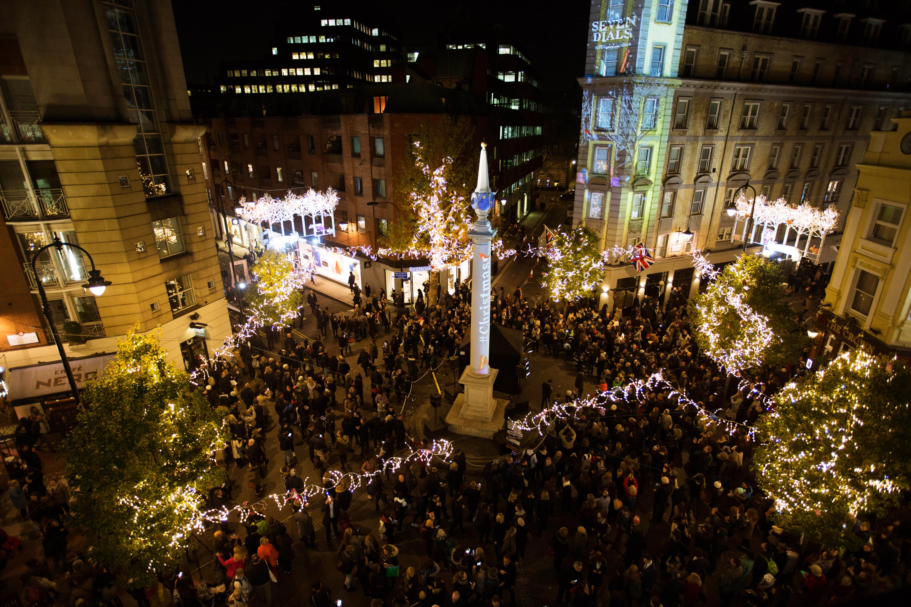 Seven Dials Lights Christmas