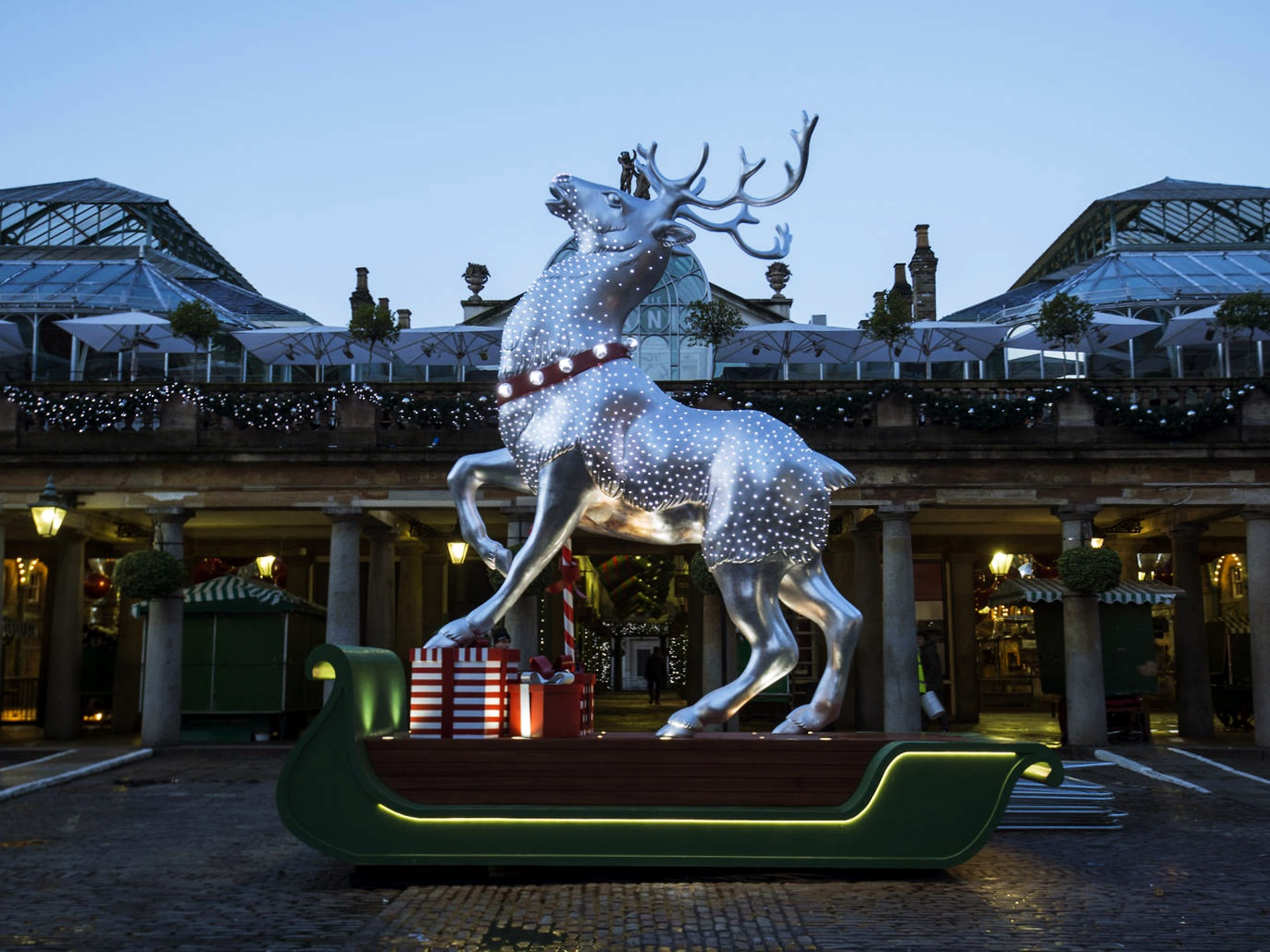 reindeer at covent garden london