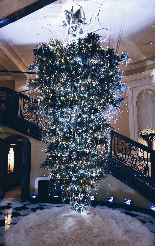 Claridges Christmas Tree Upside Down Karl Lagerfeld London The LDN Diaries