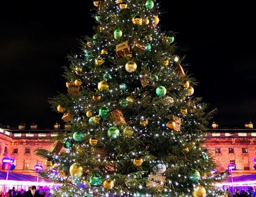 Fortnum & Mason Christmas Tree Skate Somerset House London The LDN Diaries