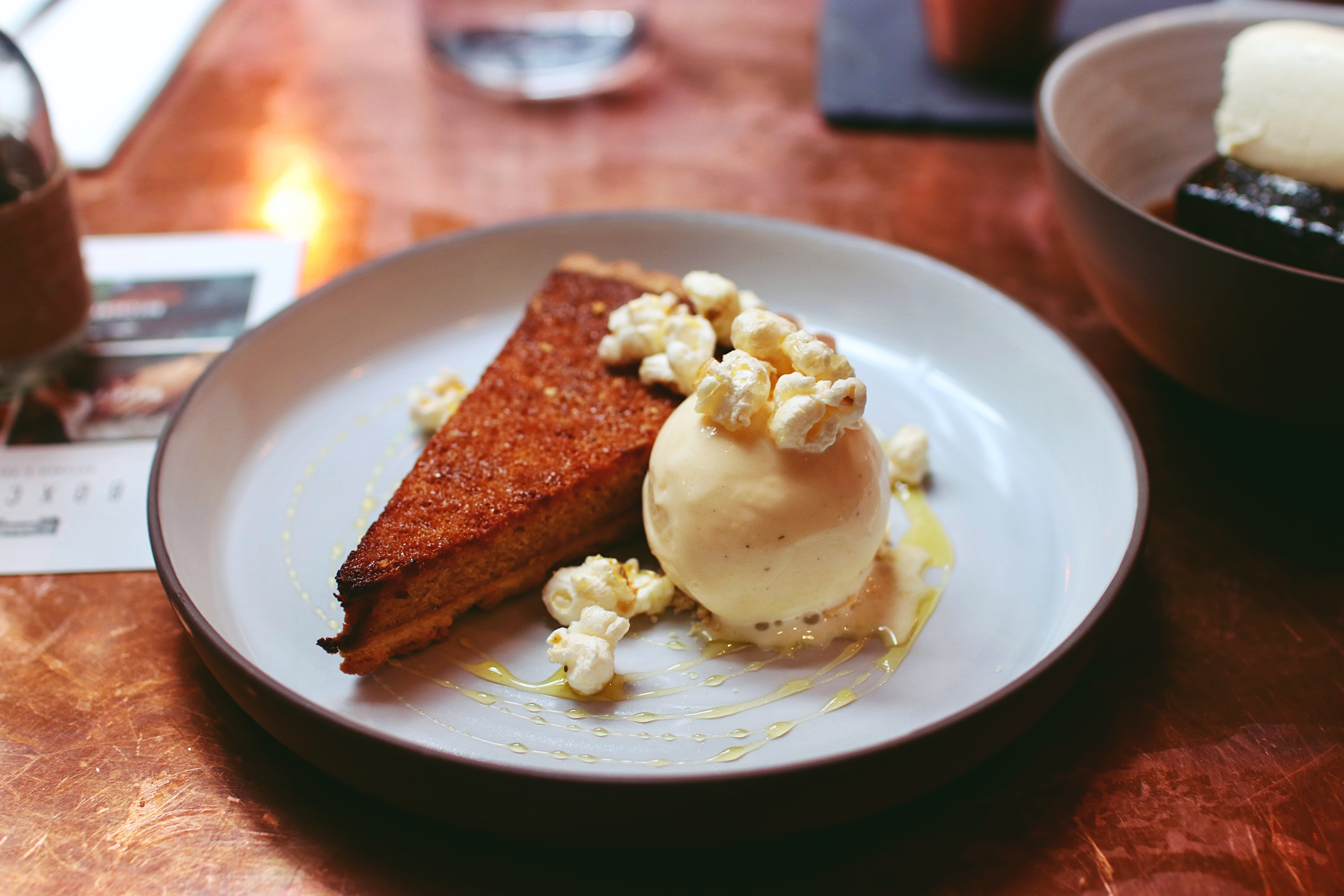 Popcorn Treacle Tart Sunday Lunch Boxcar Boxcar Butcher & Grill Marylebone Review