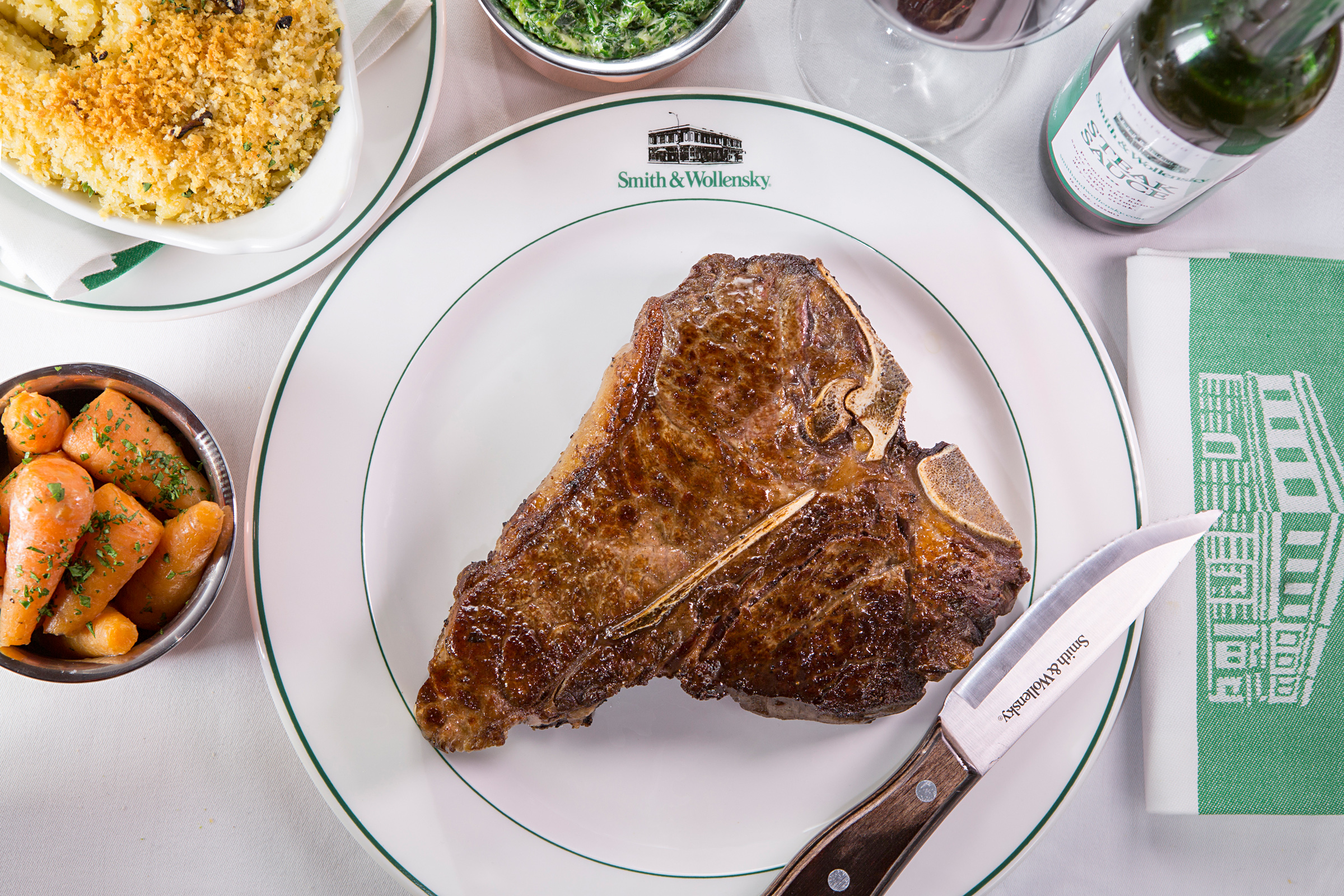 Smith & Wollensky T Bone Steak - Best Steak In London