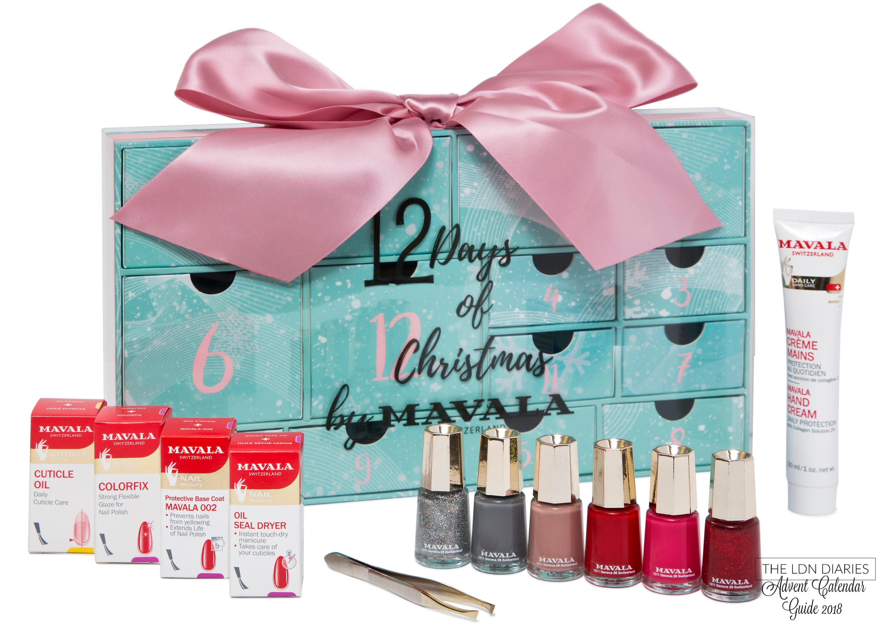 Mavala Beauty Advent Calendar 2018 - The LDN Diaries