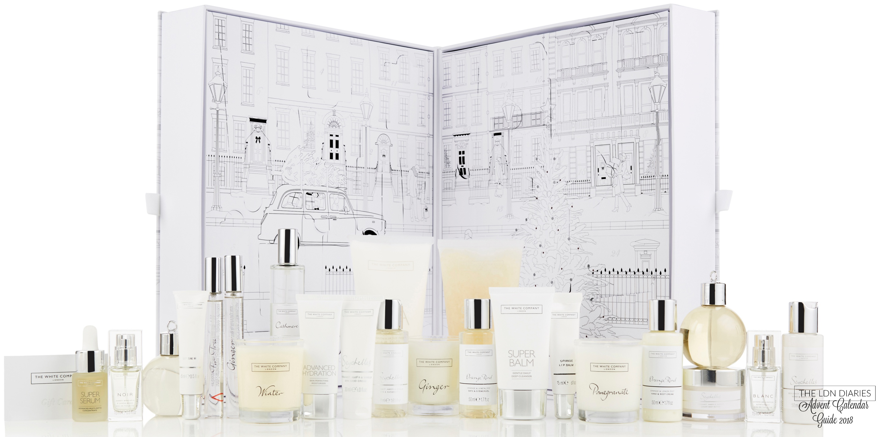 The White Company Advent Calendar - The LDN Diaries