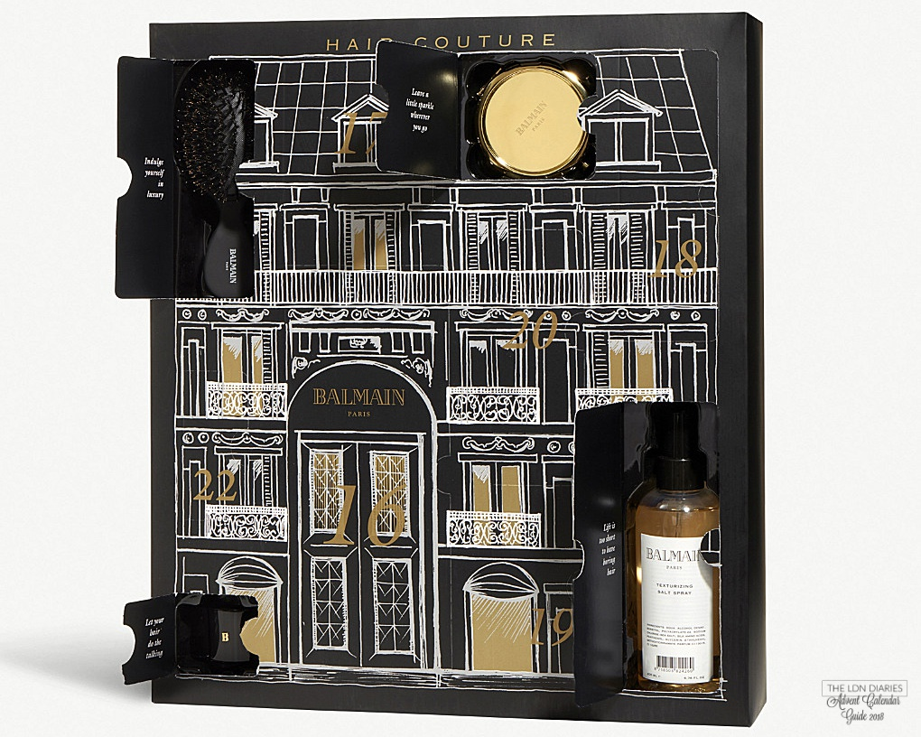 Balmain advent calendar 2018