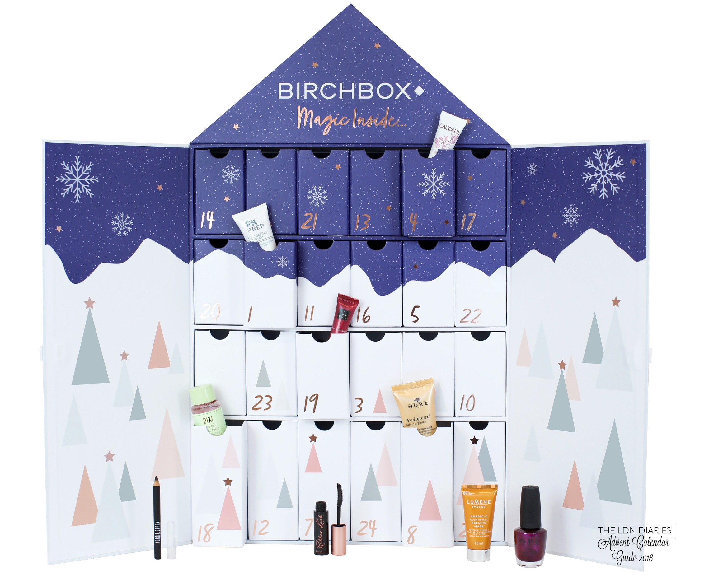 Birchbox Beauty Advent Calendar 2018 - The LDN Diaries