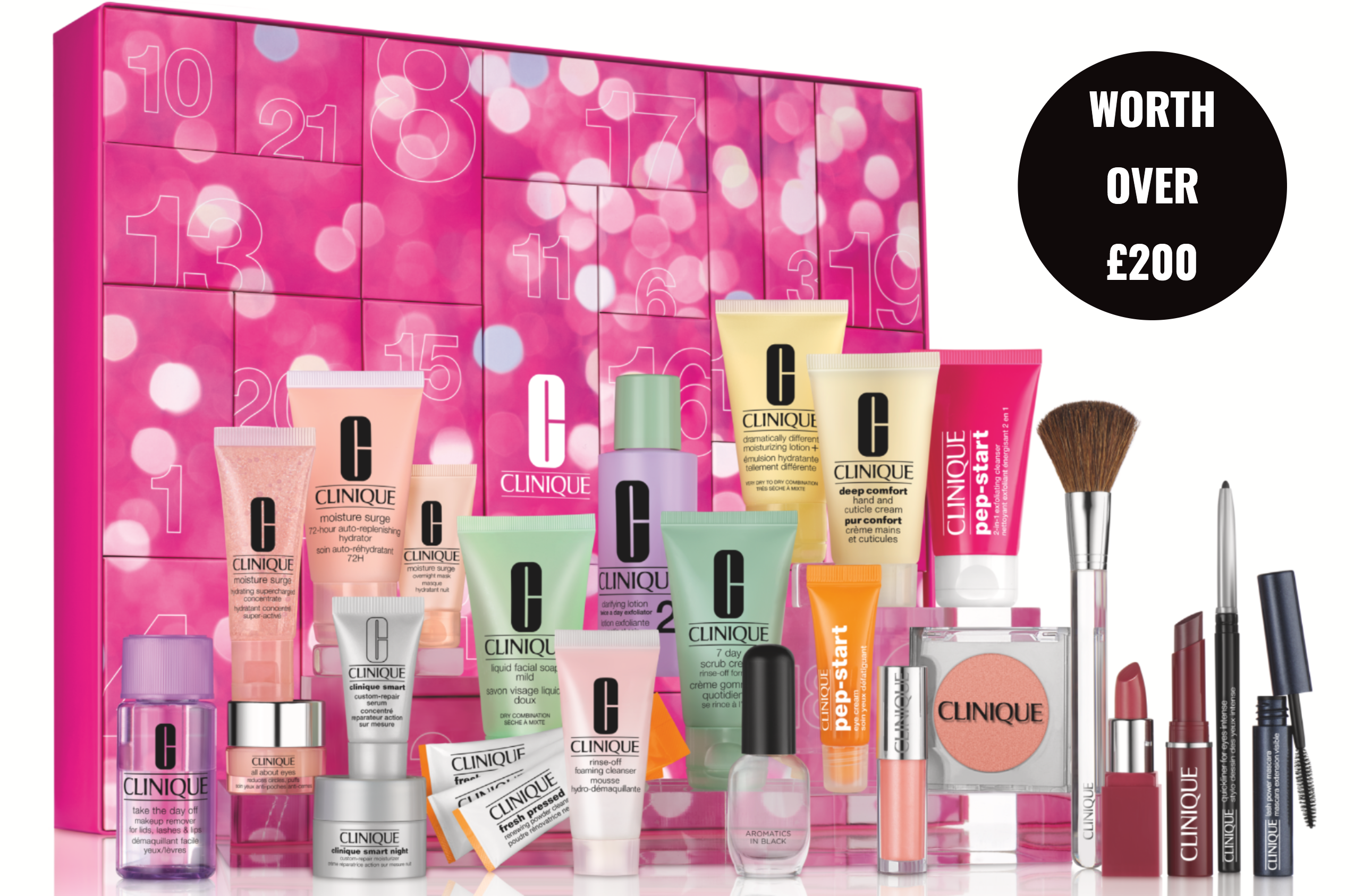 Clinique beauty advent calendar 2019 - The LDN Diaries