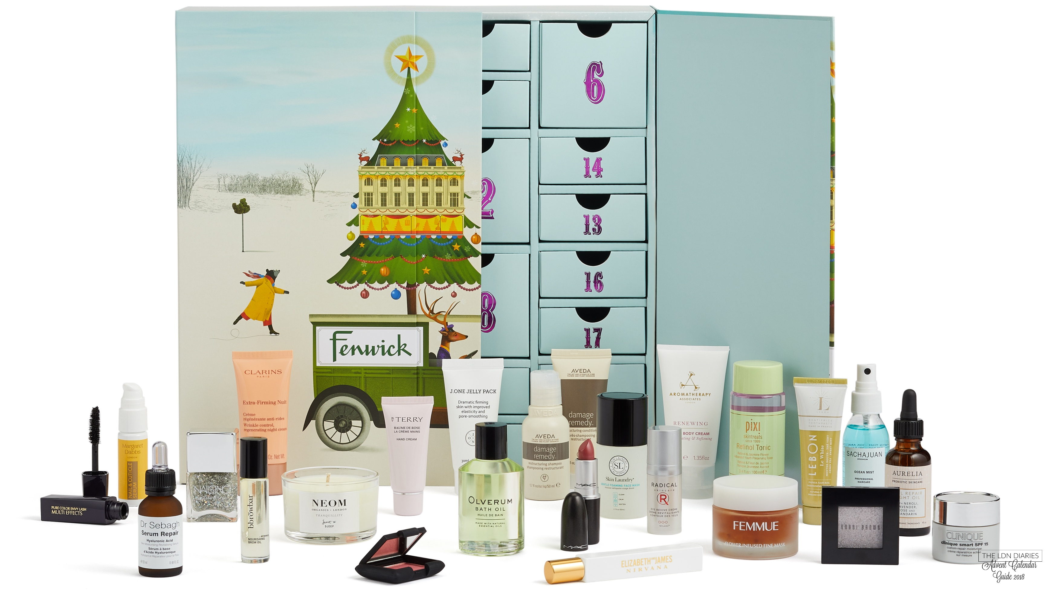 Fenwick of Bond Street Beauty Advent Calendar 2018 - The LDN Diaries