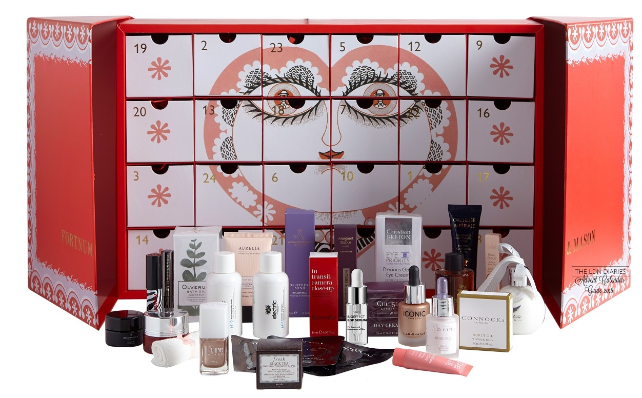 Fortnum & Mason Beauty Advent Calendar 2018 - The LDN Diaries