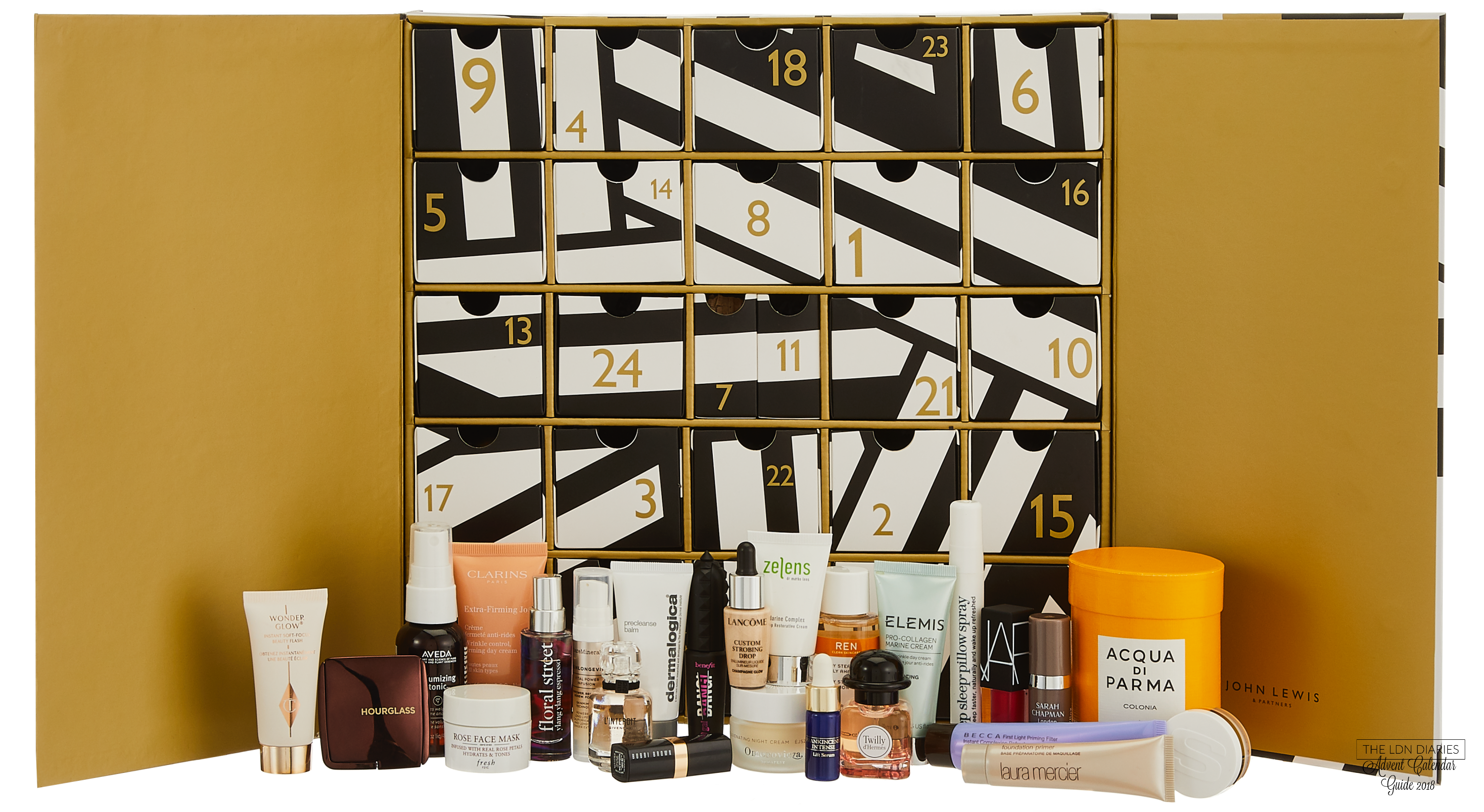 John Lewis Beauty Advent Calendar 2018 - The LDN Diaries