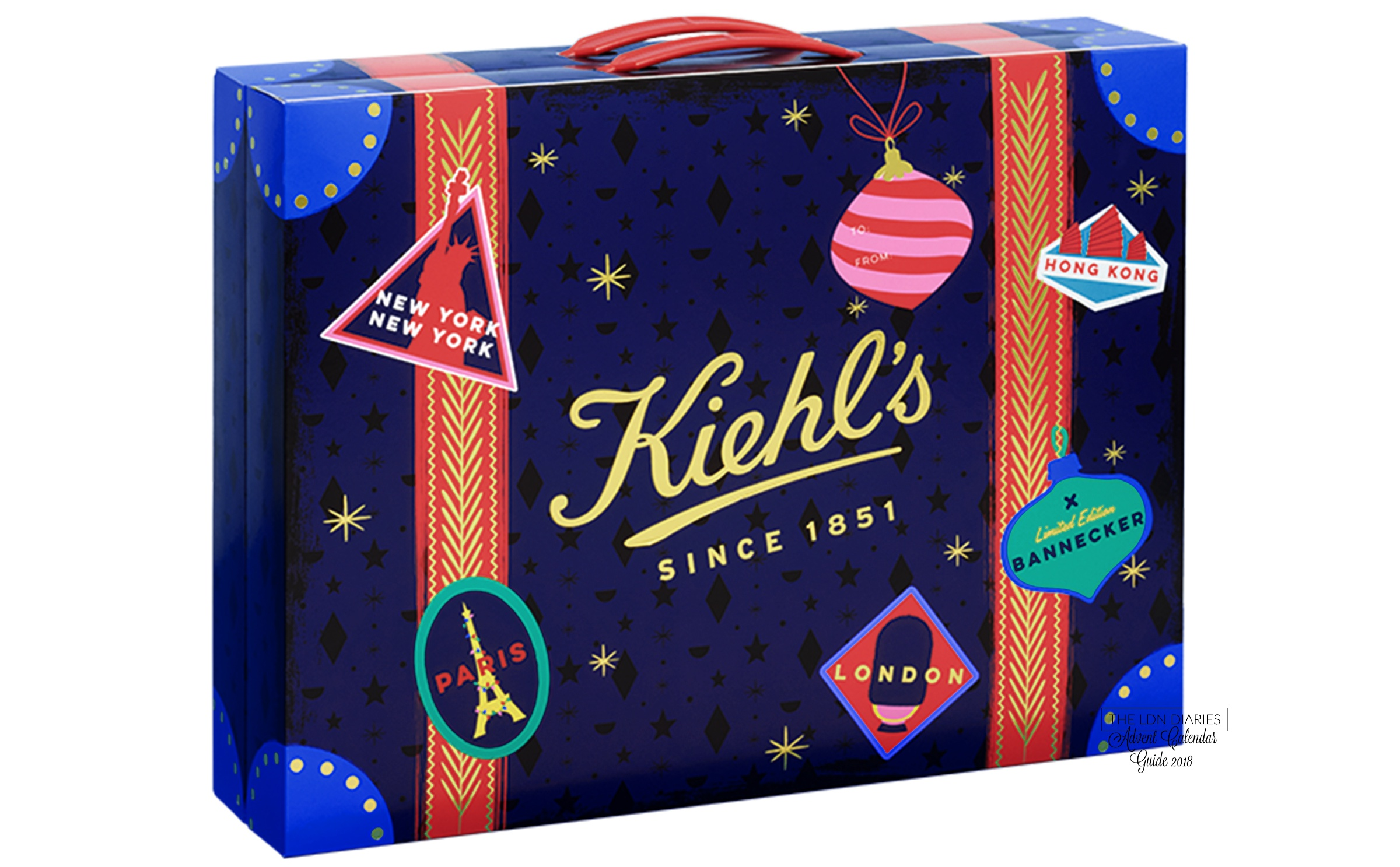 KIEHLS ADVENT CALENDAR 2018 - THE LDN DIARIES