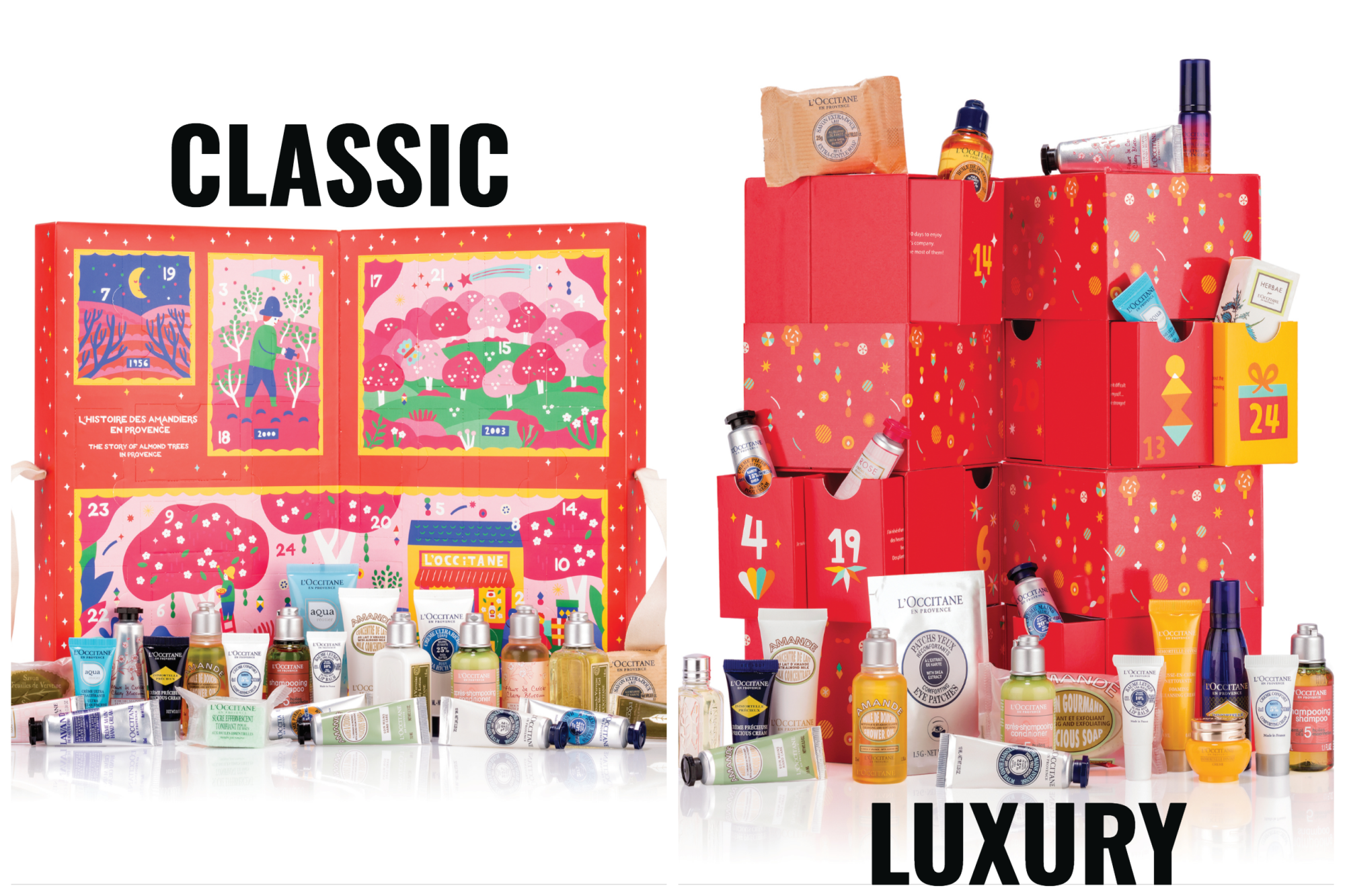 Loccitane beauty advent calendar 2019 - The LDN Diaries