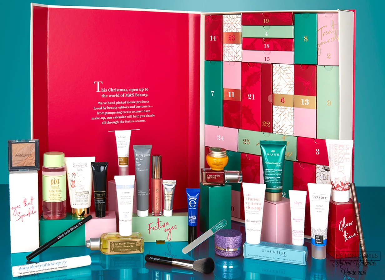 Marks & Spencer Beauty Advent Calendar 2018 - The LDN Diaries
