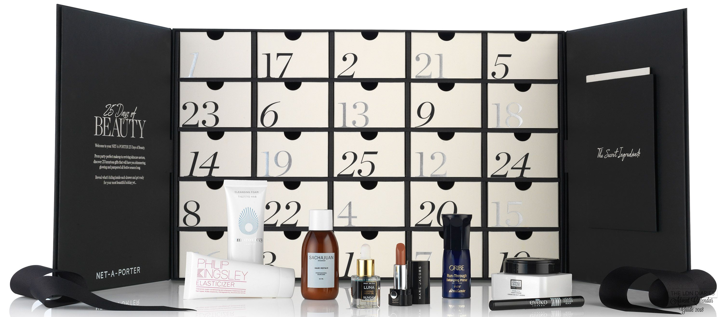 Net A Porter Beauty Advent Calendar 2018 - The LDN Diaries