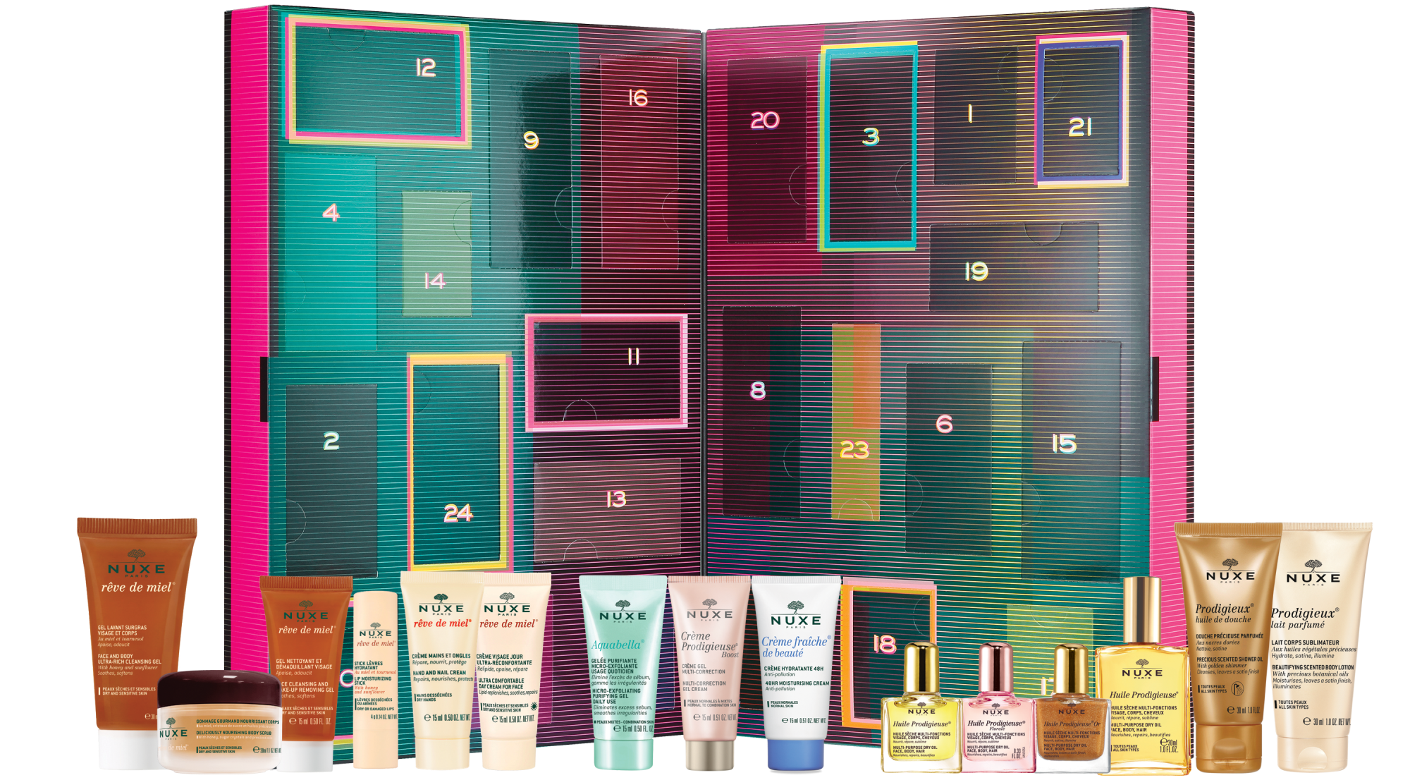 Nuxe beauty advent calendar 2019 - The LDN Diaries
