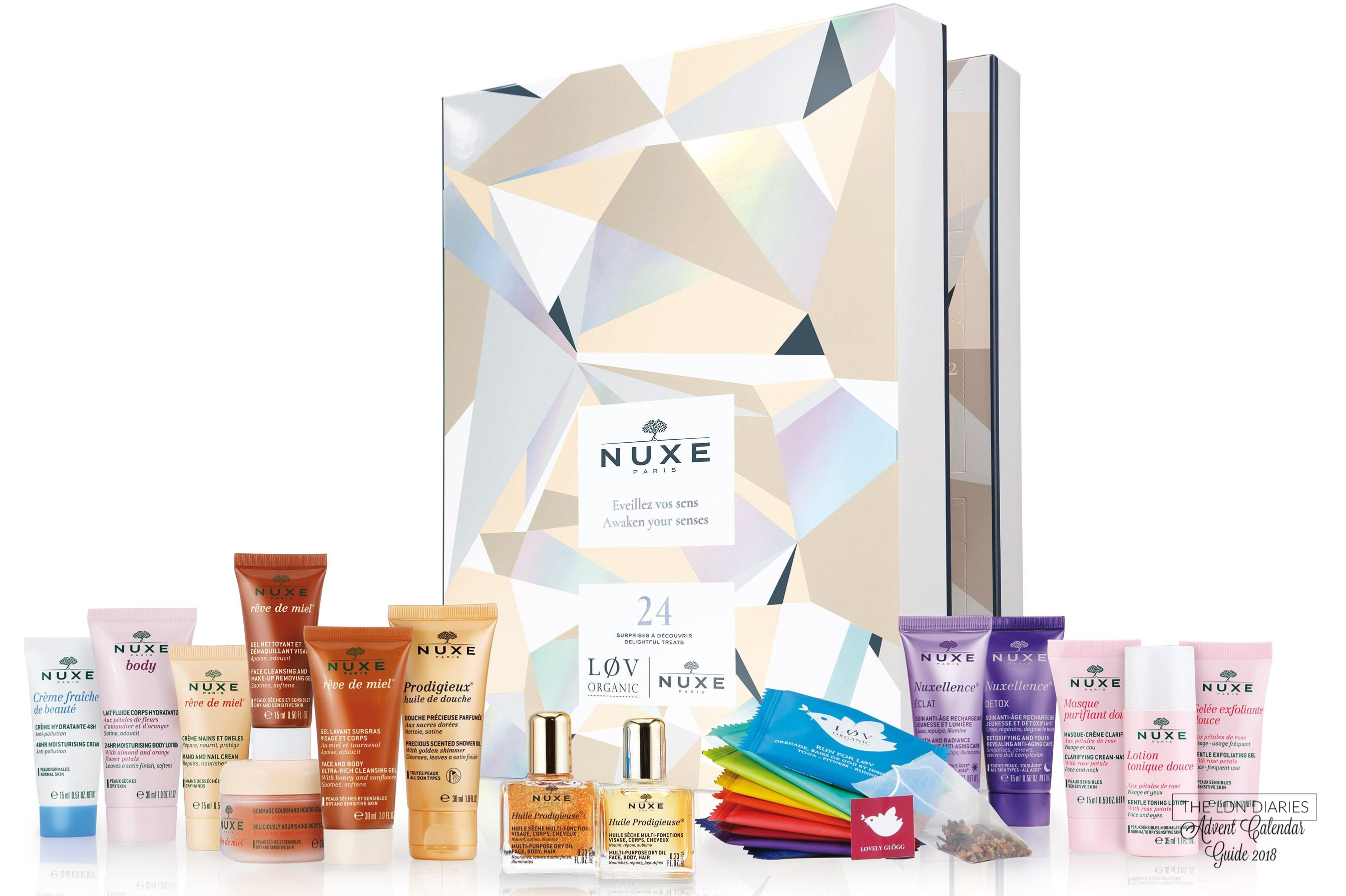 Nuxe Beauty Advent Calendar 2018 - The LDN Diaries