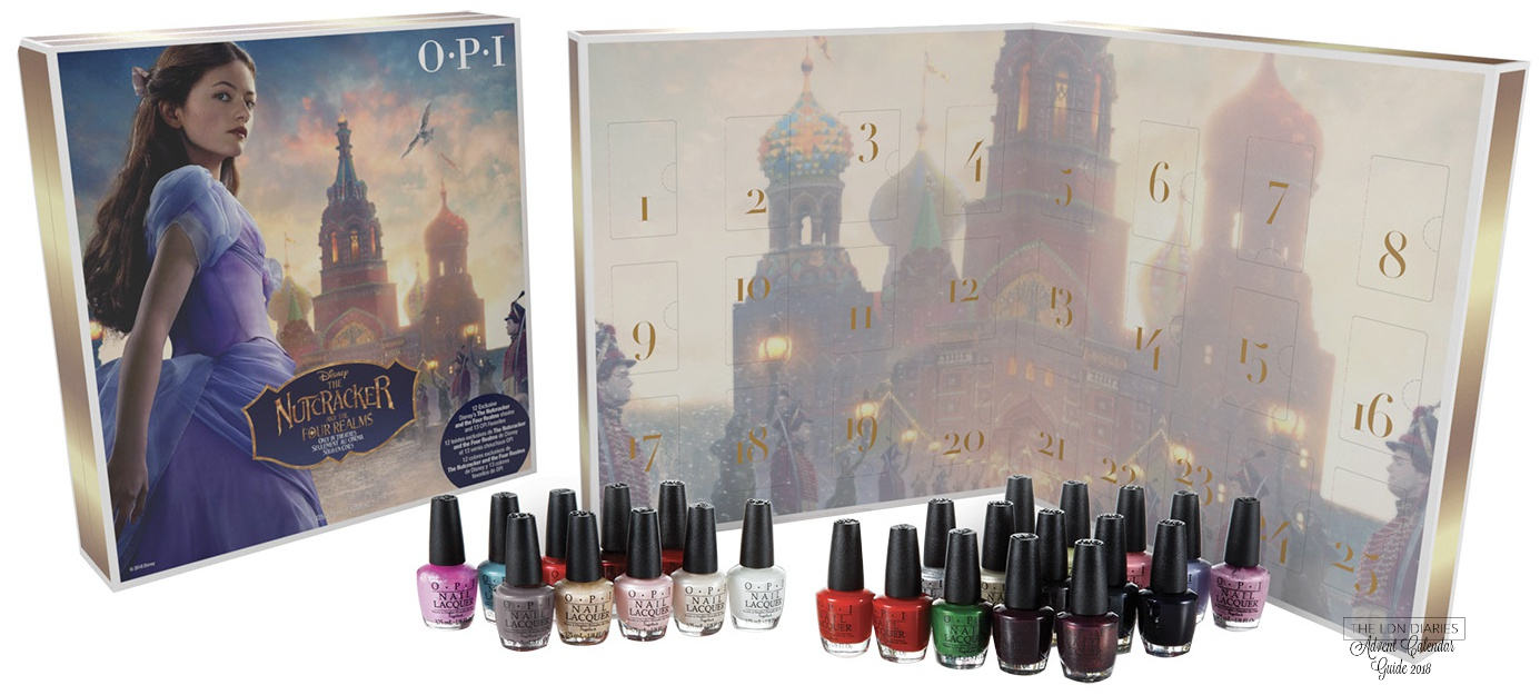 OPI advent calendar 2018 Nutcracker - The LDN Diaries