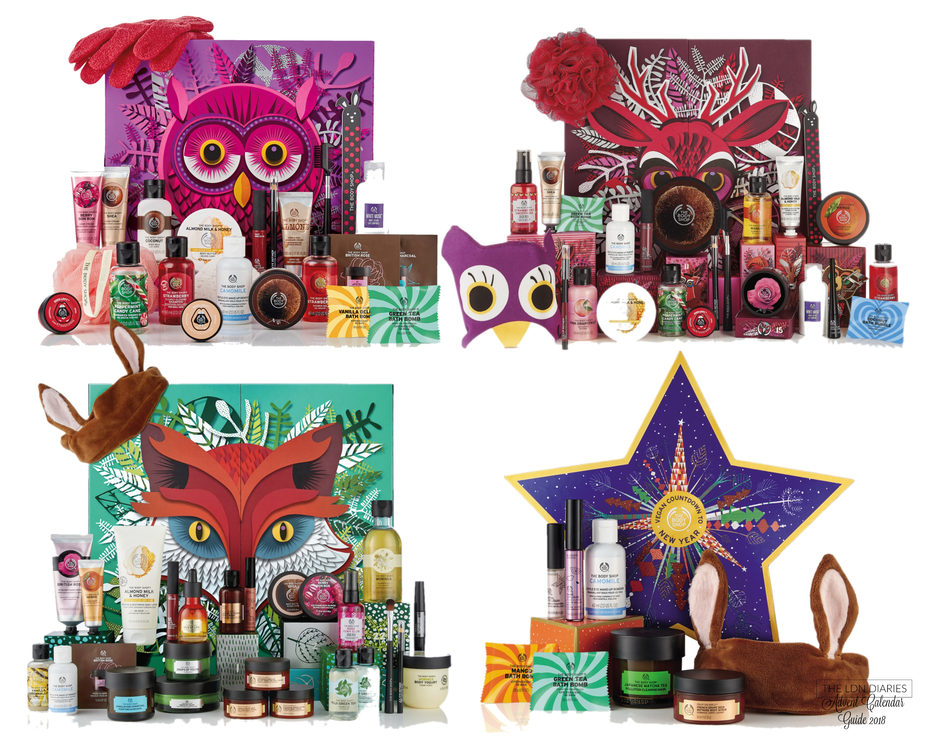 The Body Shop Beauty Advent Calendar 2018 - The LDN Diaries