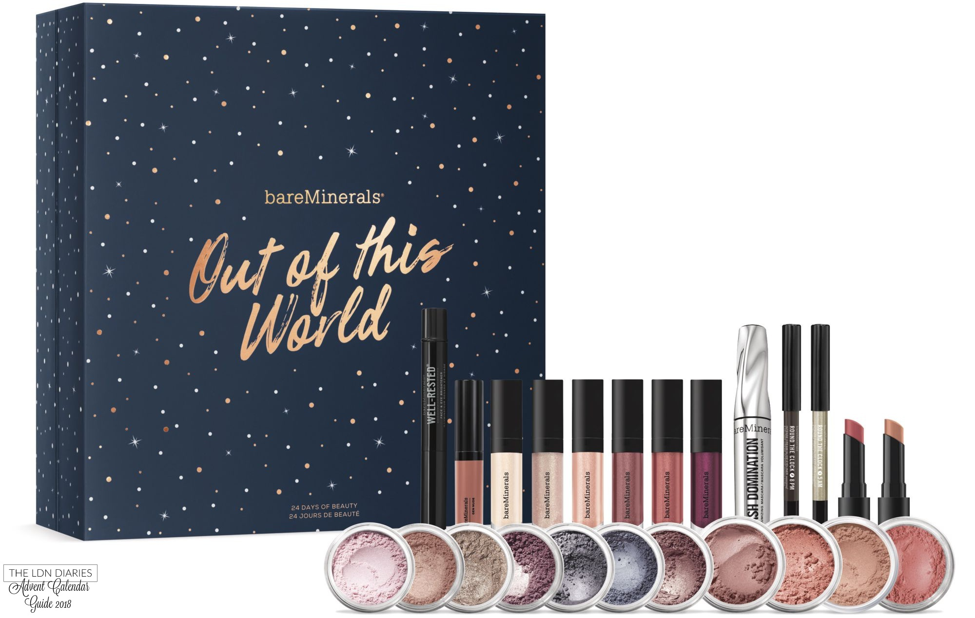 Bare Minerals Advent Calendar 2018 - The LDN Diaries