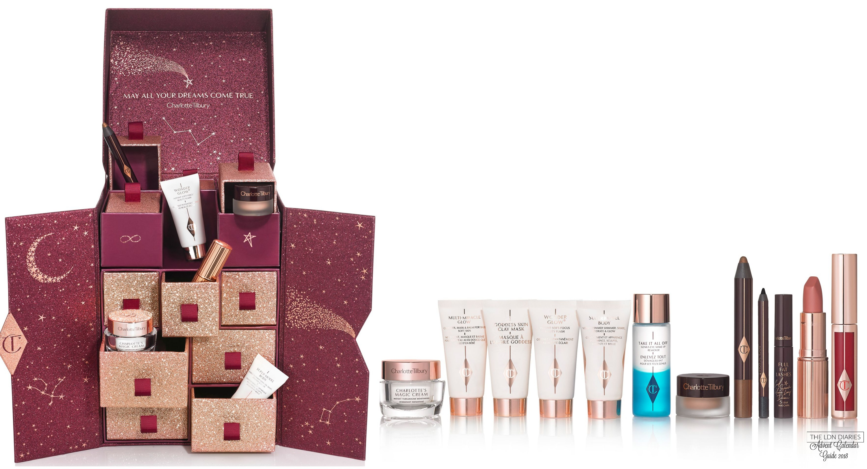 Charlotte Tilbury Beauty Advent Calendar 2018 - The LDN Diaries