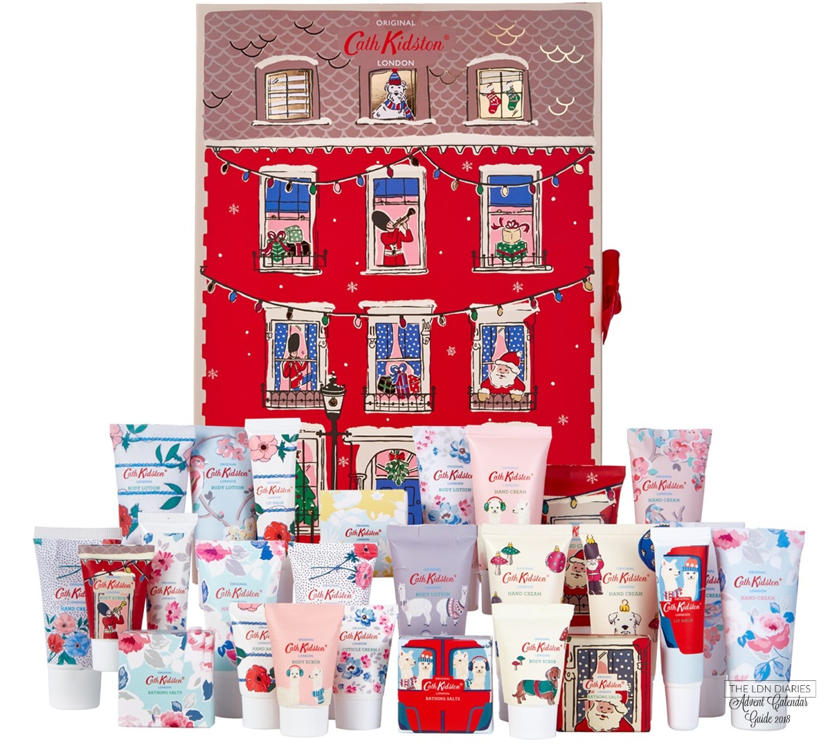 Cath Kidston Beauty Advent Calendar 2018 - The LDN Diaries